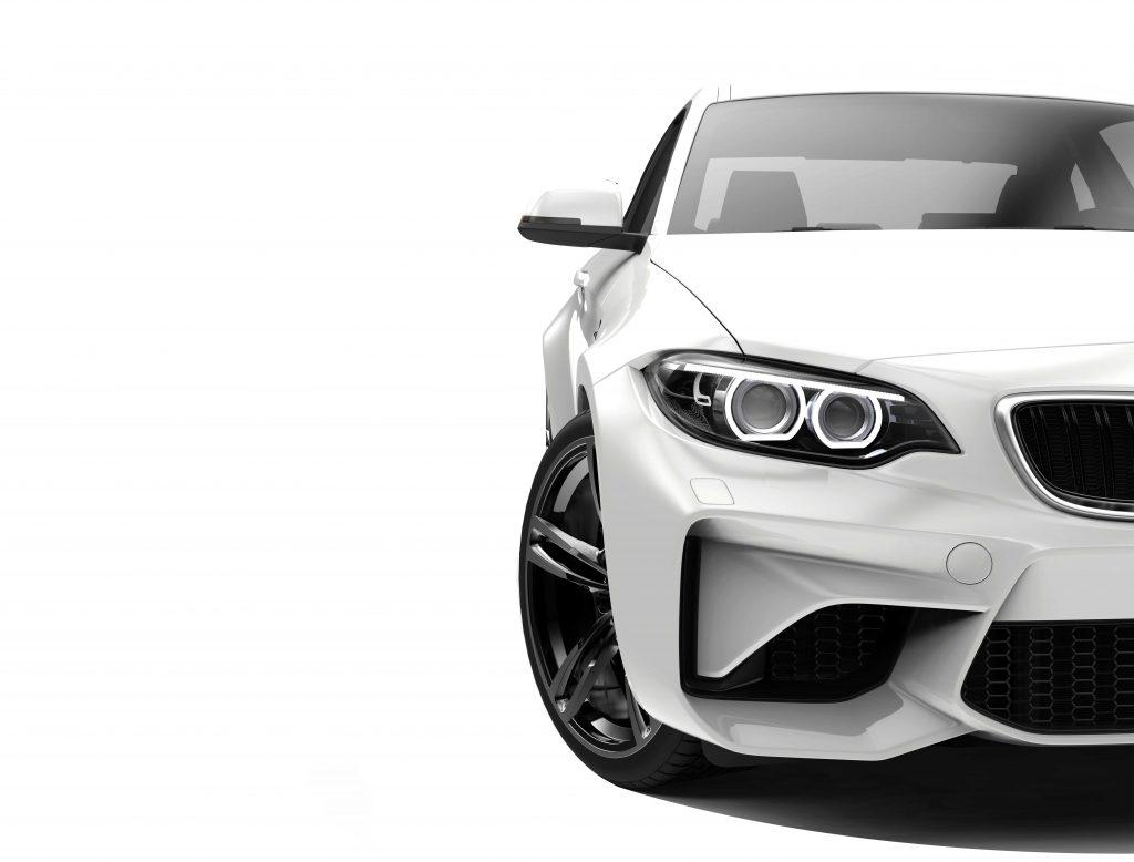 Bild BMW Front weiß
